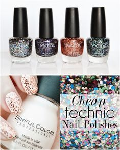 Technic Glitter Nail Polish Collection + Swatches