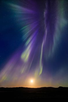 Coronal Aurora by Maurice Lepetit Image Nature, All Nature, Amazing Nature, Nature Photos, Beautiful Sky, Beautiful Landscapes, Beautiful World, Northen Lights, Cool Pictures