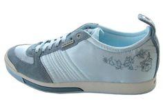 $90 Diesel Holly Blue Womens Shoes Trainers US 10 EU 41 --- http://www.pinterest.com.mnn.co/3kr