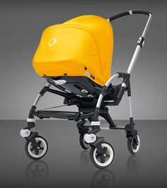Bugaboo answers the call of the modern, mobile parent with the compact, easy and nimble Bugaboo Bee. Grows with your child from infant to toddler.    For a limited time, the Bugaboo Bee will come in energetic special edition colors that add some go to the basics. Available in Deep Purple, Tangerine and Soft Pink. US$600