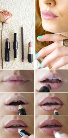 how I beautify my lips