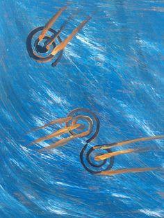 Battaglia del mare by JFrancuz  #jfrancuz #jfrancuzabstracts #jfrancuzart #artwork  #italianinspiration #blueabstracts #jfrancuzitaliantour #abstractpainting