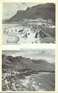 Golden Oldies - 18 Old Cape Town Pics - Cape Town is Awesome African Life, African History, Old Pictures, Old Photos, Most Beautiful Cities, Cape Town, Live, South Africa, Landscape Photography