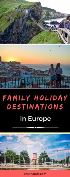Figuring where to travel with your family during spring/summer? Here are some cool ideas on Best Family Holidays in Europe, by Travel Experts around the world. #europe #familytravel #bestfamilyholidays