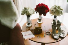 Upstairs on the Square |  Zac Wolf Photography | Flowers by Blooms of Hope