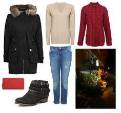 """London Walk"" outfit | Created by Jazmist Days on DressSpy"