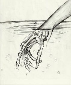 art, bones, doodle, doodles, draw, drawing, draws, fingers, hand, index, middle finger, paper, pencil, pinky, pointer, riffle, ring, sharpie, skeleton, skeleton hand, skull, thumb, toxic, trippy, water, First Set on Favim.com