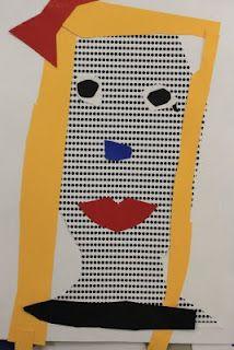 Roy Lichtenstein inspired portraits