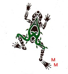Green Tree Frog by mikaylamettler.deviantart.com on @DeviantArt