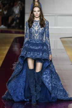 Zuhair Murad Haute Couture Fall 2017 Collection. #runway #fashion #zuhairmurad #couture #fabfashionfix