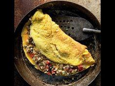 Indian Street Food - King of Bread Omelette