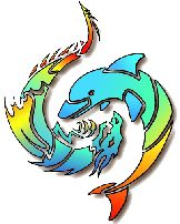 Tribal Dolphin Tattoos Designs Skin-Art Pictures Images Photos Ink Flash 36