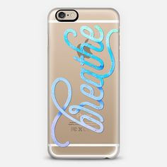 @casetify sets your Instagrams free! Get your customize Instagram phone case at casetify.com! #CustomCase Custom Phone Case | iPhone 6 | Casetify | Graphics | Typography | Transparent  | Tracey Coon