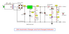 See 4 Lead-acid battery charger circuits for and battery. With automatic charging and full charged Indicator using Easy to build. Lead Acid Battery Charger, Battery Charger Circuit, Electronics Basics, Electronics Projects, 24 Volt Battery, Hf Radio, Electrical Circuit Diagram, Power Supply Circuit, Electric Circuit