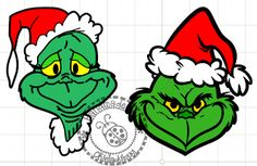 Grinch faces uploaded