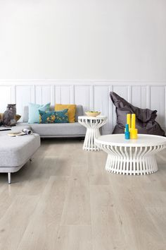 "If you are after a Scandinavian look, opt for oak flooring in a light finish. Laminate Largo in Long Island oak light from [Quick-Step](http://www.quick-step.com.au/laminate/largo/LPU1660_long-island-oak-light/?utm_campaign=supplier/|target=""_blank"")."