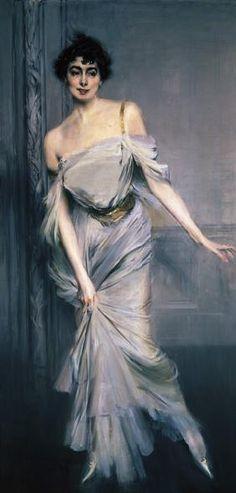 Madame Charles Max. de Giovanni Boldini
