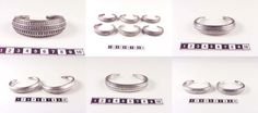 Viking silver arm rings from Gotland (SHM).