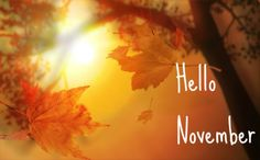 Hello November Pictures, Images, Photos for Facebook, Pinterest ...
