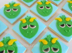 Dragon cookies by L sweets, via Flickr