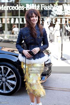 Buro 24/7 Founder <a gi-track='captionPersonalityLinkClicked' href='/galleries/personality/7039024' ng-click='$event.stopPropagation()'>Miroslava Duma</a>, is seen following the Maticevski show at Mercedes-Benz Fashion Week Australia 2015 at Carriageworks on April 14, 2015 in Sydney, Australia.