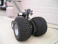 Trailer tug dolly needed - Polaris RZR Forum - RZR