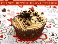 Peanut Butter Oreo Cupcake Recipe