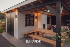 Backyard Sheds, Backyard Patio Designs, Outside Living, Outdoor Living, Outdoor Decor, Architecture Details, Interior And Exterior, Pergola, Sweet Home