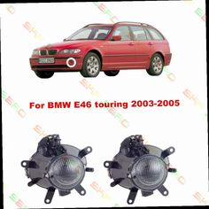 53.10$  Buy here - http://ali9yo.worldwells.pw/go.php?t=32457787237 - For BMW E46 touring  2003/04/05  car styling fog lights   1 SET FOG LAMPS 53.10$