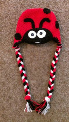 Crochet Animal Hat by Torisclassycreations on Etsy. One of her skunk hats is here on Pinterest but can't be repinned.