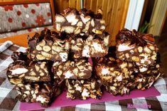 Fenséges ropogós édesség, amit egyszerűen mindenki szeret! A csoki és a mogyoró tökéletes párosítás, ezért ez a finomság egyszerűen örök kedvenc. Nem kell sütni ahhoz,[...] Rocky Road, Yummy Treats, Biscuits, Cereal, Deserts, Food And Drink, Cookies, Chocolate, Baking