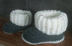 Ravelry: Toddler Ugg Style Slipper Boots pattern by Jinty Lyons