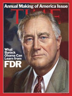 Franklin D. Roosevelt led the U.S. through a depression and a world war. By the time he died, the nation was profoundly changed — and we owe much of the change to him.    Read more about his legacy here: http://ti.me/Kzu1fN