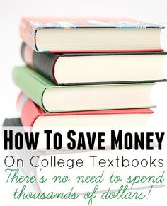 Campus Book Rentals Review & How To Save Money On Textbooks. If you are looking for tips on how to save money as a college student, then one of the top things you need to learn is how to save money on textbooks such as through cheap textbook rentals. In this post, I will be including a Campus Book Rentals review because... http://www.makingsenseofcents.com/2014/12/campus-book-rentals-review-how-to-save-money-on-textbooks.html