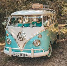 Vintage Volkswagen Bus, Vw Bus T2, Volkswagon Van, Vw T1, Vw Kombi Van, My Dream Car, Dream Cars, Van Life, Van Hippie