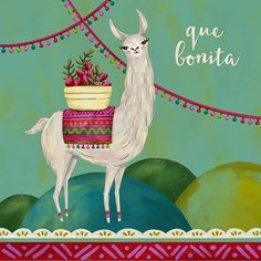 Llama love. Alpacas, Pattern Illustration, Digital Illustration, Llama Drawing, Arte Latina, Llama Arts, Peruvian Art, Llama Birthday, Llama Alpaca