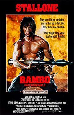Rambo, sau khi ra đầu thú chính quyền ở phần I, bị giam giữ ở một trại tù với công việc chính là khai thác đá. Một ngày nọ Trautman đến gặp Rambo, đưa