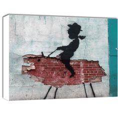 Cowboy Kid Banksy, Rodeo, Street Art, Moose Art, Kids, Painting, Animals, Young Children, Boys