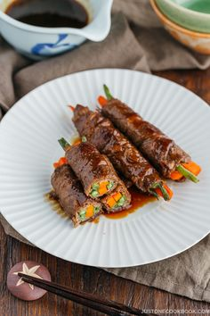 Teriyaki Steak Rolls