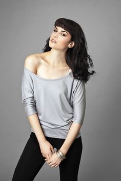 Women's Batwing Scoop Neck Top by Kali Clothing | Ethical Ocean