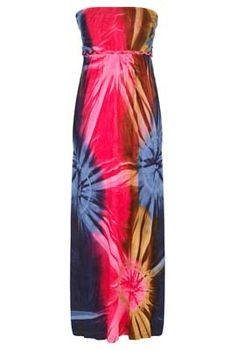 ad7bab1cd72 Ruby Rocks Maxi Boob Tube Dress at Long Tall Sally