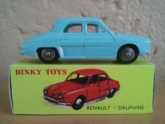 Renault Dauphine, Dinky Toys (24E).