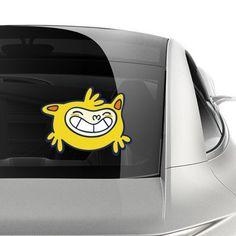 Rio 2016 Olympic mascot Vinicius car sticker