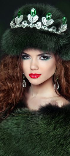Photo about Beautiful brunette woman in mink fur coat. Fashion Beauty girl model with long healthy wavy hair styling. Image of glamour, eyes, hair - 48402361 Fur Accessories, Fabulous Furs, Brunette Woman, Cool Hats, Girl Model, Shades Of Green, Coats For Women, Winter Hats, Glamour