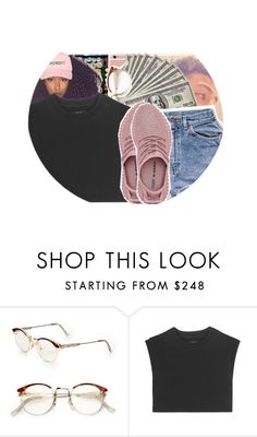 """""""Yeezy season :D"""" by baby-trilldolls ❤ liked on Polyvore featuring beauty, RetroSuperFuture and adidas Originals"""