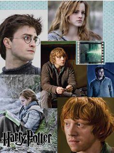 Fotogramas en póster Harry Potter y las Reliquias de la Muerte