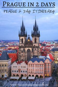 What to do in Prague in 2 days - a Prague 2 Day Itinerary. I loved Prague, a beautiful city with plenty to see and do no matter how long you stay there.  I asked Pierre from Anything Under Our Stars to share his suggestions for what to do in Prague in 2 days with his Prague 2 day itinerary, covering Prague highlights including the Old Town and the Castle, food & accommodation. #Prague #Europe #Travel #CzechRepublic #Czech #Itinerary