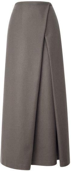 Suno Wrap Pleat Maxi Skirt www.shopstyle.com...