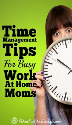 Can't seem to get everything done on your to-do list? This must read post will have you slaying the time beast and beating the clock with these time management tips for all you busy WAHM's!