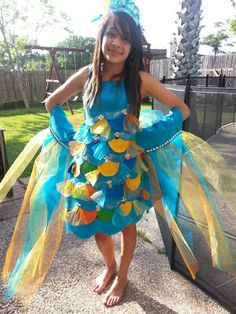 Not the costume, but DEFINITELY the streamers made of tulle on the arms